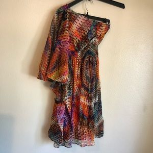 🔥3/$20 Muse Vibrant Multi-Colored Dress SZ 4